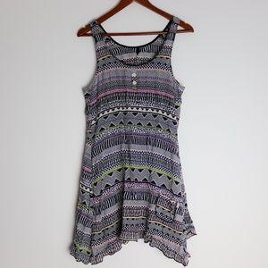 Kensie Summer Tank Dress Size Large